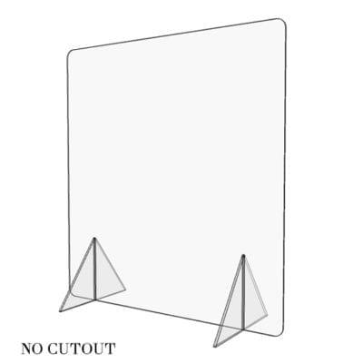 Free Standing Countertop Shield (no cutout)