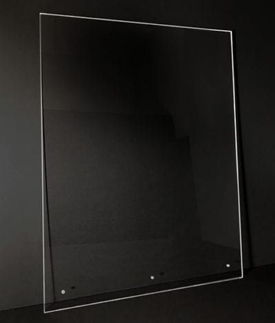 Protective Acrylic Panel Shield - Photo