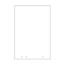 Protective Acrylic Panel - Render