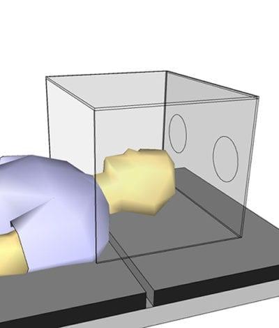 Acrylic Medical Intubation Box - Lifestyle