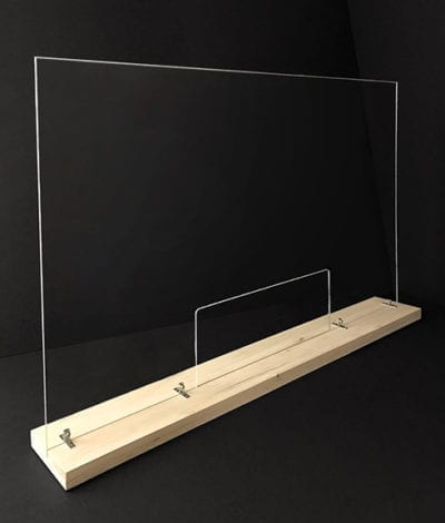 Large Divider with Base and Pass-Through